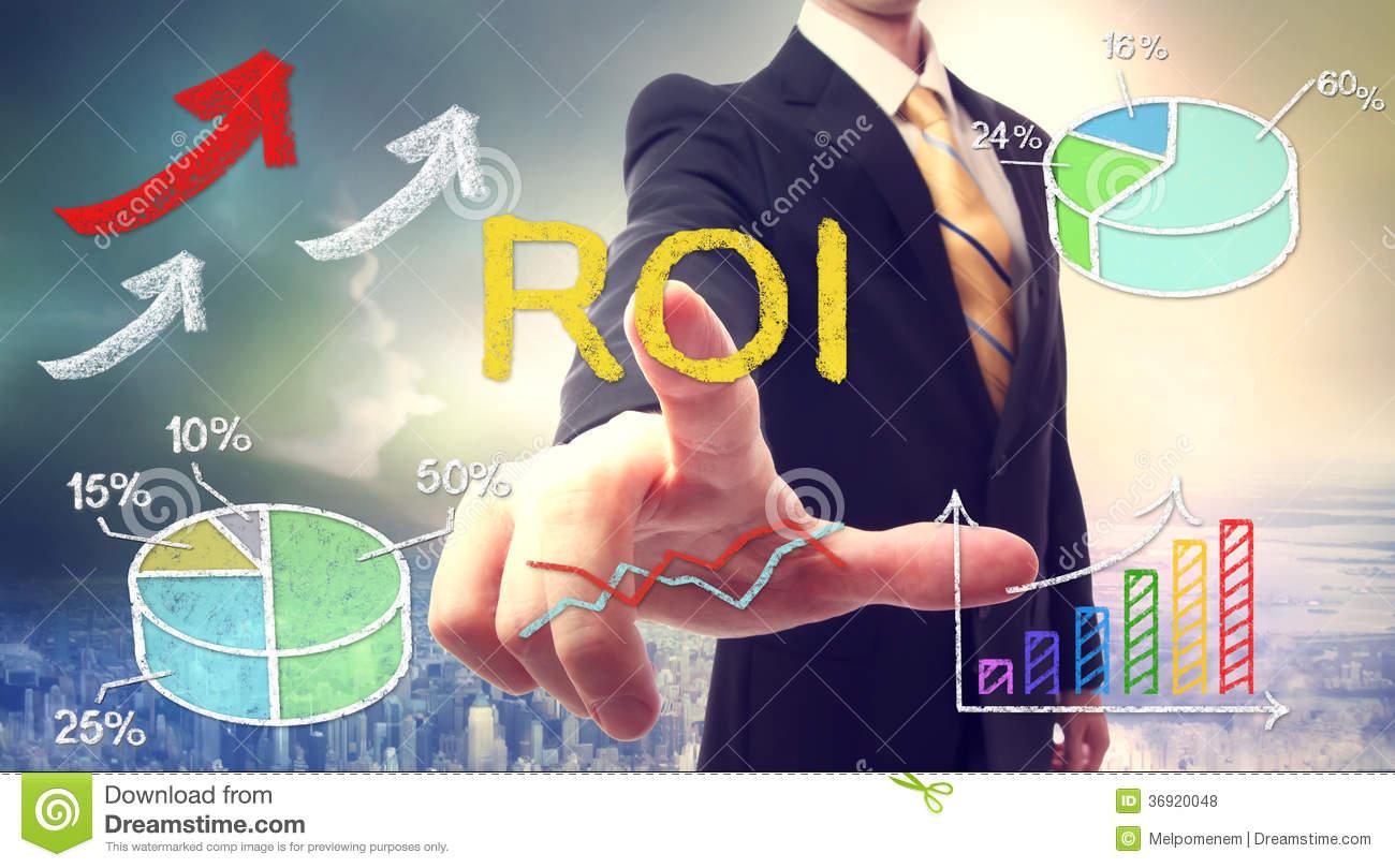 roi-return-investment-over-skyline-background-36920048