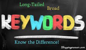 Keywords increase sales