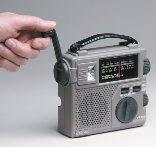 crank radio will be an important part of any evacuation kit for crisis communication